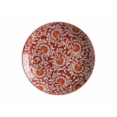 Maxwell & Williams flat plate 27 cm Damaskred boho BI0221