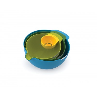 Nest Mix 4 Piece Mixing Bowl  - Design salva-spazio